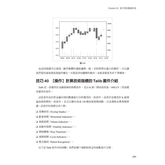 Python:股票演算法交易實務145個關鍵技巧詳解
