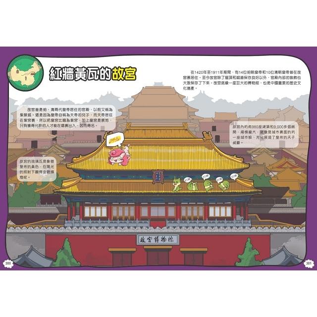 神龍部落知識漫畫系列:國家篇 1 神龍遊中國