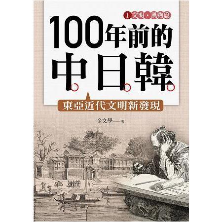 100年前的中日韓(1)文明.風物篇