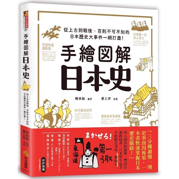 手繪圖解.日本史