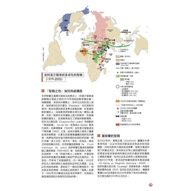 伊斯蘭的世界地圖:場所、活動、意識形態