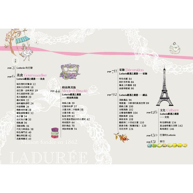 馬卡龍名店LADUREE口碑推薦!老巴黎人才知道的200家品味之選