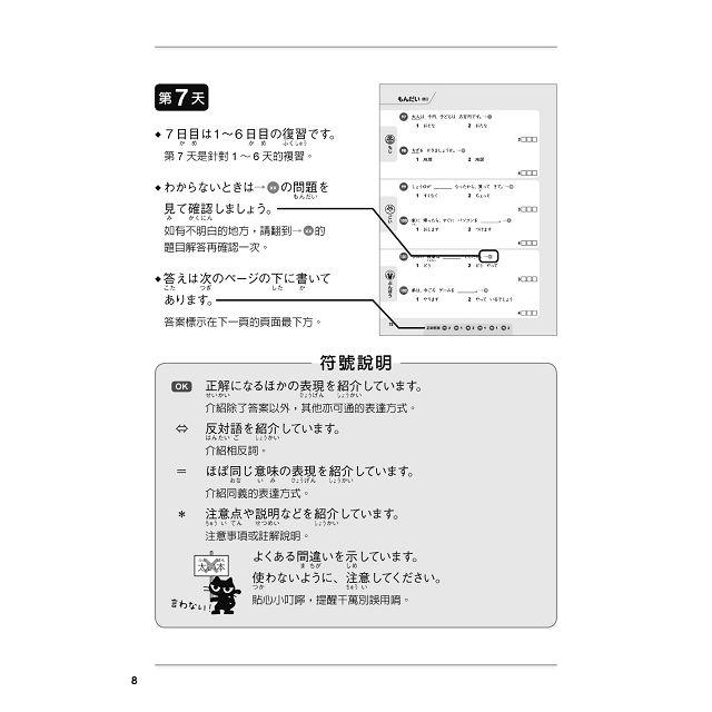 新日檢完勝500題N4:N5:文字‧語彙‧文法