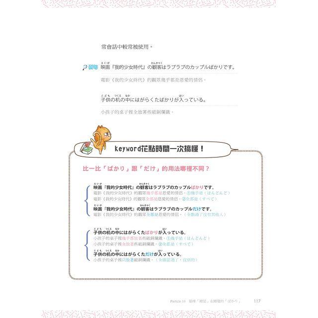 日語助詞王:王可樂妙解20個關鍵,日檢不失分(附贈「日檢模擬測驗練習本」)