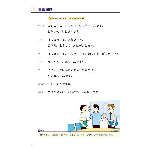 全新開始!學日語:適合大家的日本語初級課本,50音、單字、會話、文法、練習全備!(附全教材MP3)