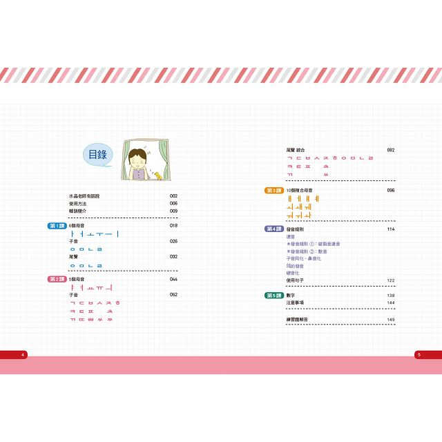 韓語40音就該這樣學!(1課本+1寫字練習冊+17堂完整影片課程+發音示範音檔)