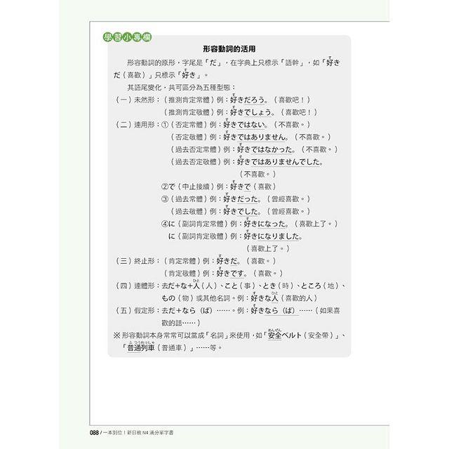 一本到位!新日檢N4滿分單字書(隨書附日籍老師親錄標準日語朗讀音檔QR Code)