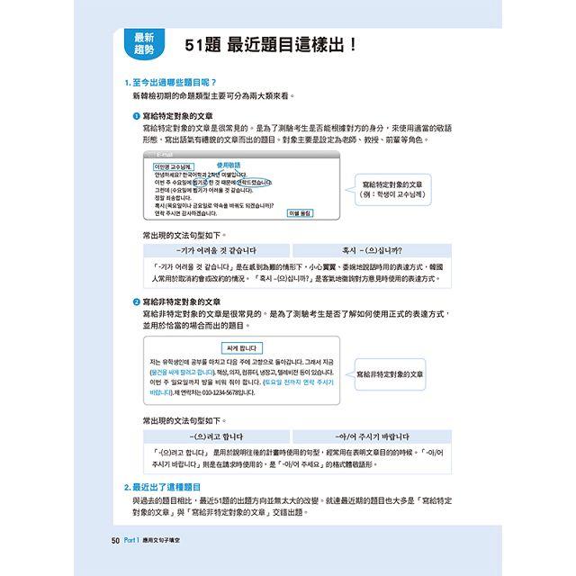 HOT TOPIK新韓檢 TOPIK II中高級寫作速成攻略