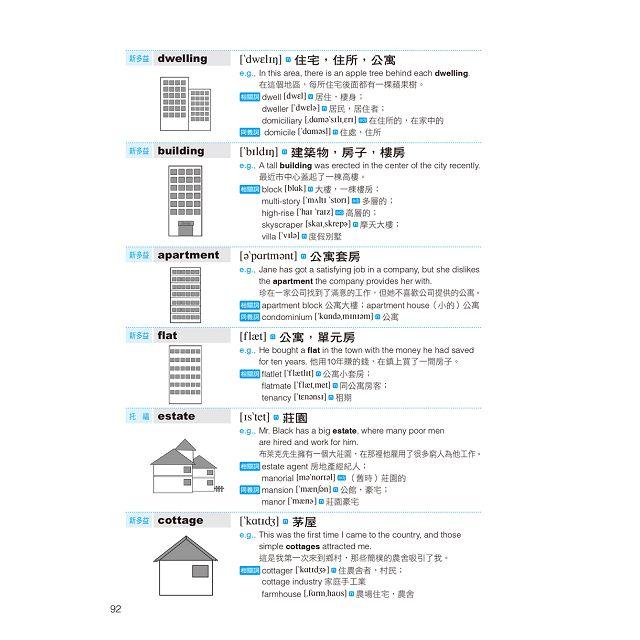 20000英文單字,英檢、新多益、托福、GRE拿高分(附MP3 CD)