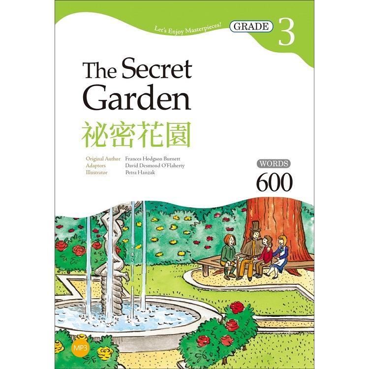 祕密花園 The Secret Garden【Grade 3經典文學讀本】二版(25K+1MP3)