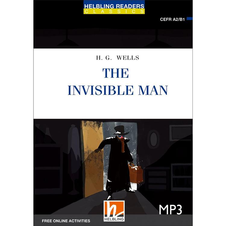 The Invisible Man (25K彩圖經典文學改寫+1 MP3)