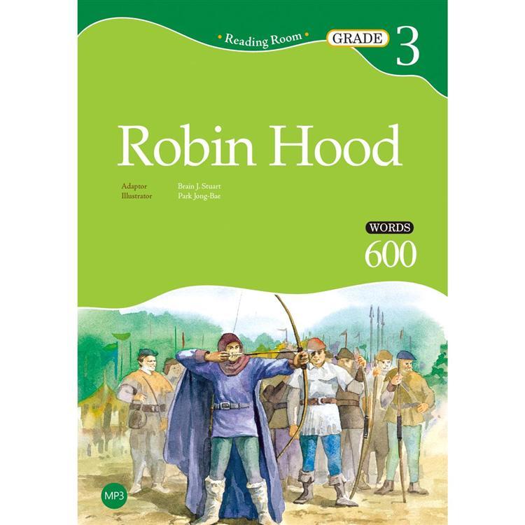 Robin Hood【Grade 3】(2nd Ed.)(25K經典文學改寫讀本+1MP3)
