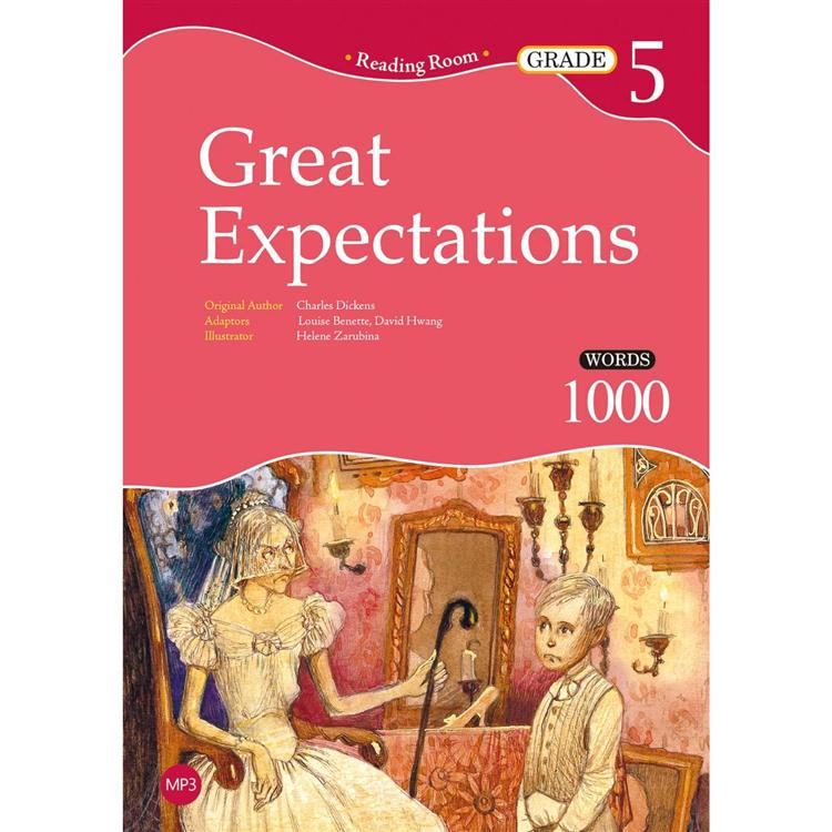 Great Expectations【Grade 5】(2nd Ed.)(25K經典文學改寫讀本+1MP3)