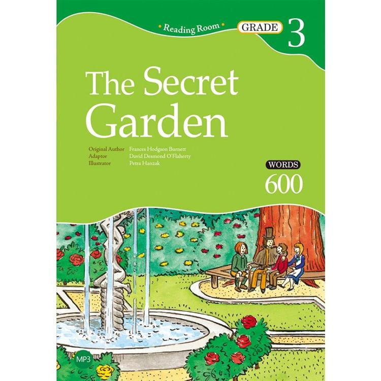 The Secret Garden【Grade 3】(2nd Ed.)(25K經典文學改寫讀本+1MP3)