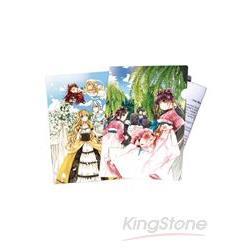 重花「歡樂的婚禮獻樂」雙面文件夾組(2入)