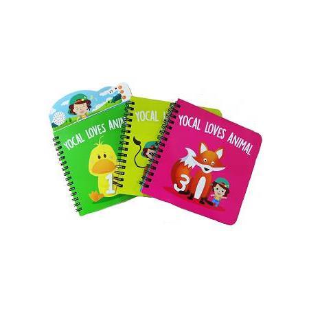 Yocal Books-Yocal Loves Animal