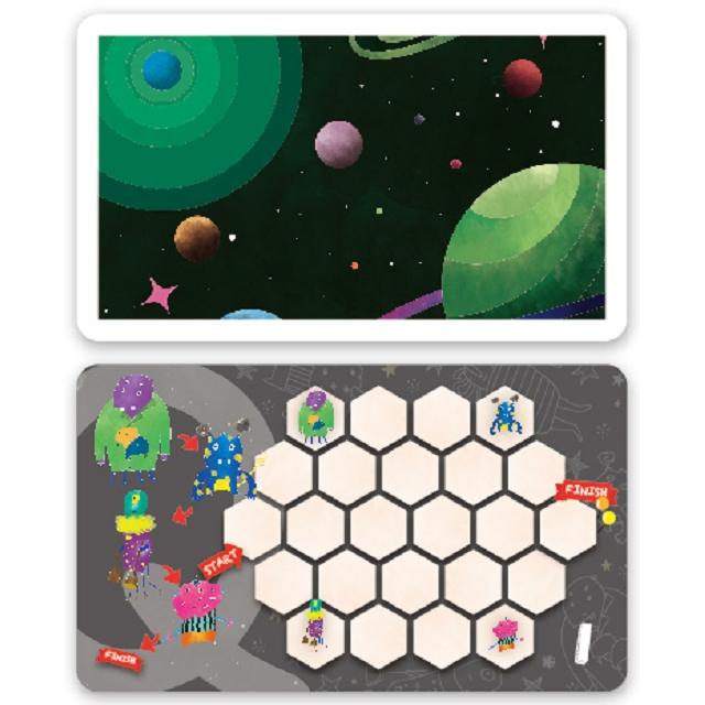 小怪獸大冒險:磁鐵益智桌遊
