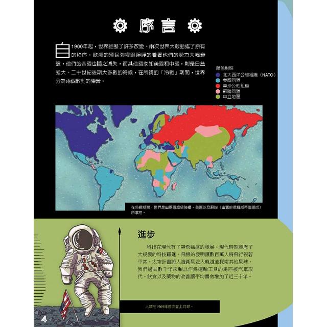 平行歷史:現代世界西元1900年-現代