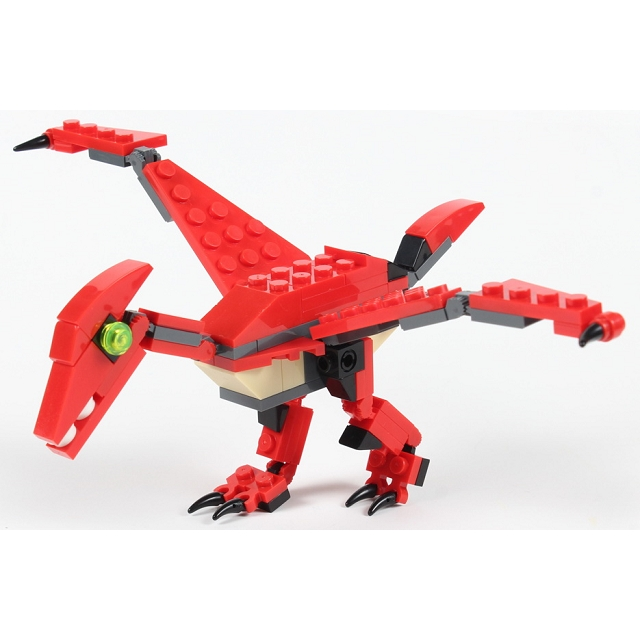 扭蛋迷你積木:翼龍