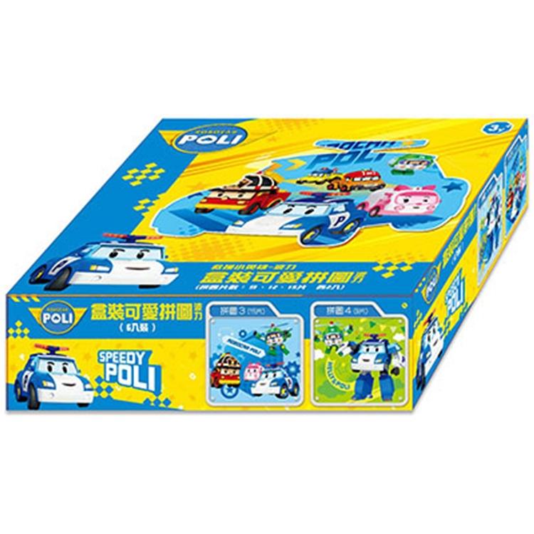 救援小英雄-波力 盒裝可愛拼-波力