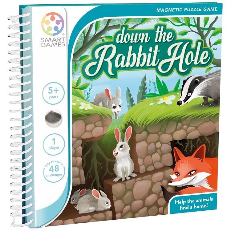 魔磁隨身遊戲-躲躲小兔Down the Rabbit Hole