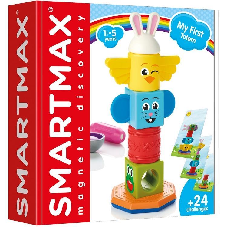 磁力接接棒-寶寶第一個圖形遊戲SmartMax My First Totem