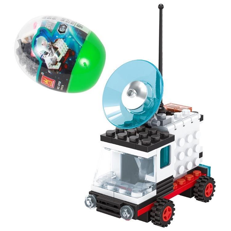 扭蛋迷你積木:衛星接收車