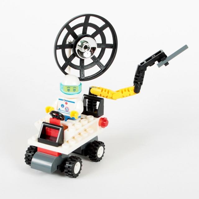 扭蛋迷你積木:月球車