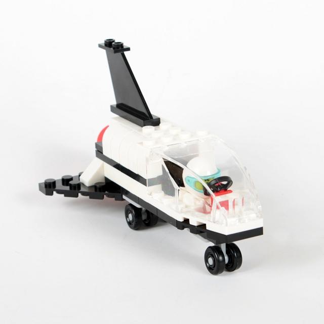 扭蛋迷你積木:太空船