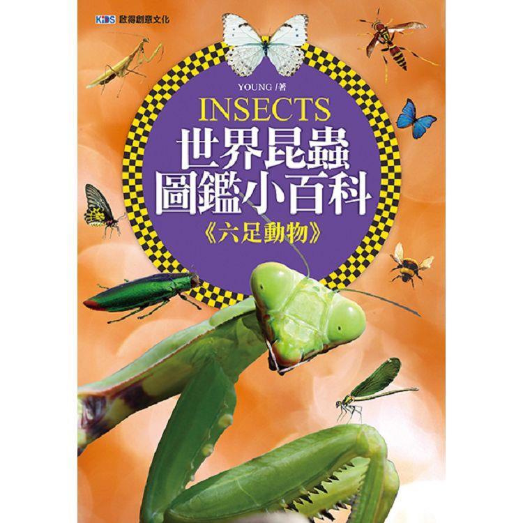 世界昆蟲圖鑑小百科《六足動物》