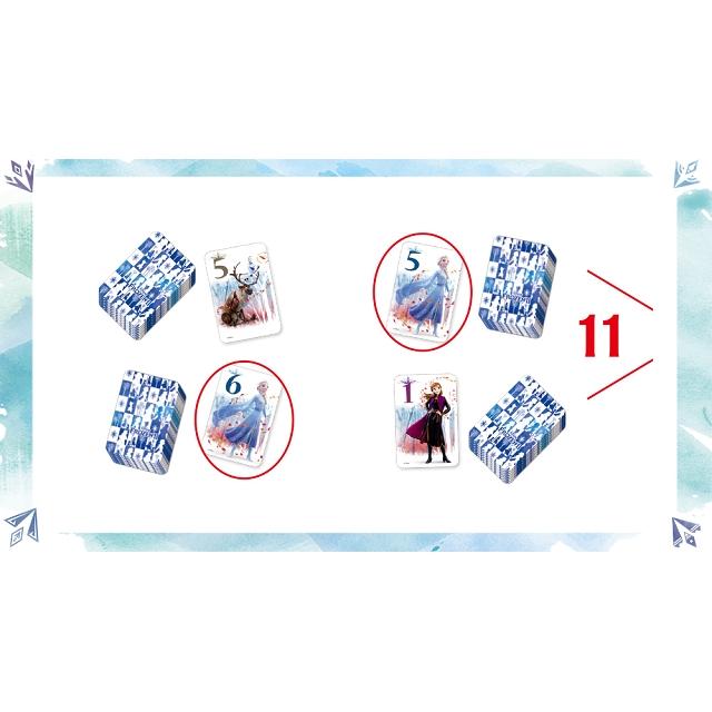 【迪士尼 DISNEY-益智卡牌】數感女王 (冰雪奇緣II系列)