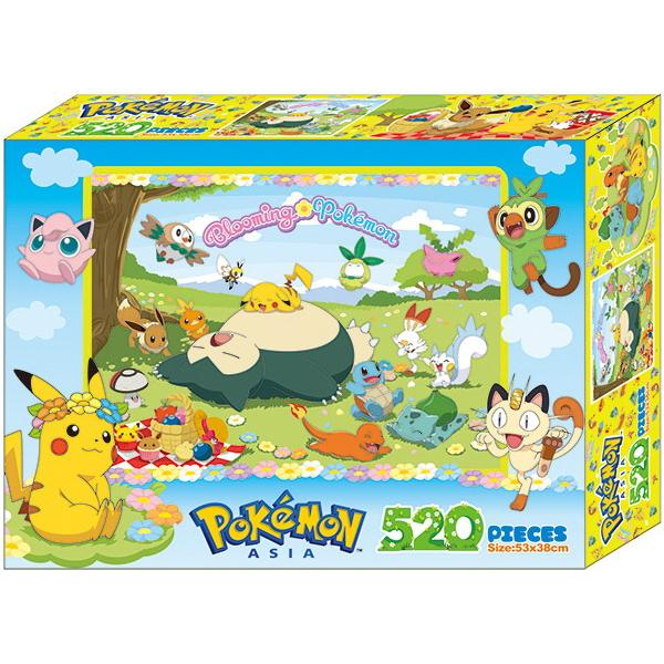 寶可夢 520片盒裝拼圖(C)