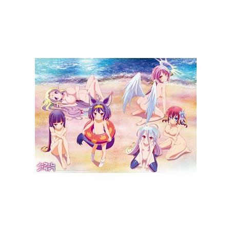 遊戲人生 Q彈大海報〈海灘款〉
