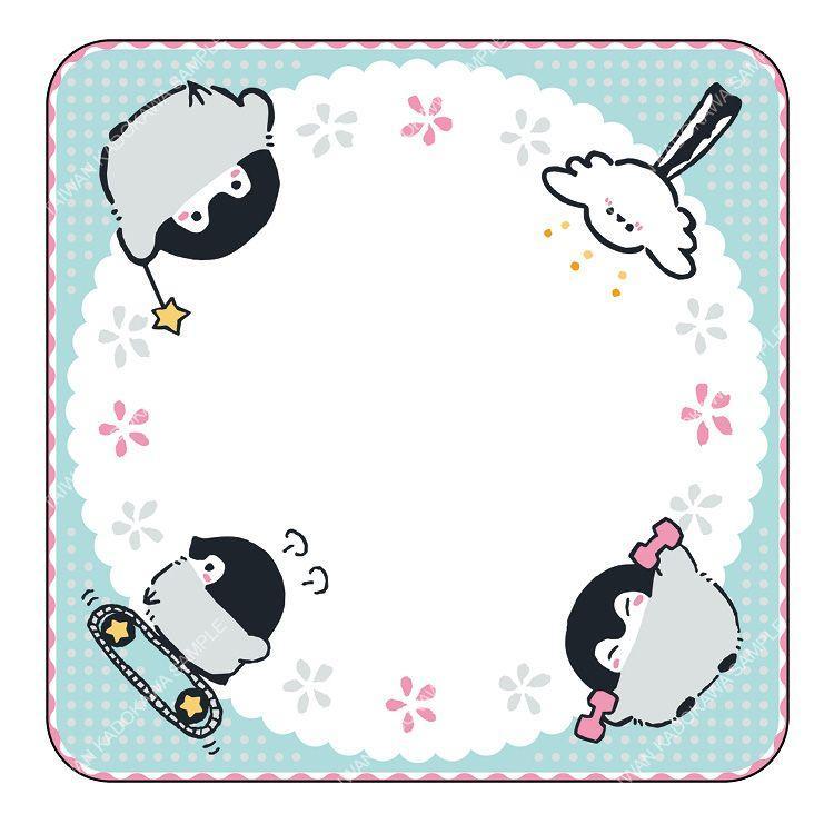 小手帕 B-正能量企鵝