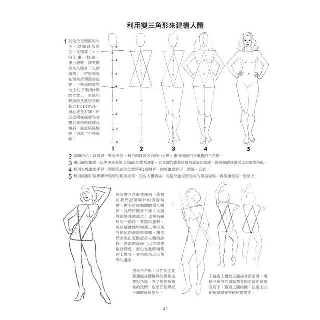 人體素描:享譽半世紀!結構最準確、形神最到位的人像畫教程,從形體內外、動靜表現,到賦予風格的全套