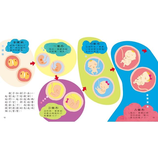 寶貝成長繪本:媽媽,我從哪裡來?【性別啟蒙 自我認知】