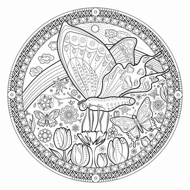 薩滿動物曼陀羅靜心療癒著色全書特選厚質畫紙特別附贈薩滿動物