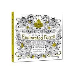 魔法森林《秘密花園》第二集,中文版獨家附贈32頁練習本