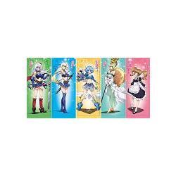 《魔彈之王與戰姬》塑膠書籤組 (5張一組)