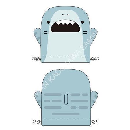 造型束口隨身袋-鯊魚哥 A