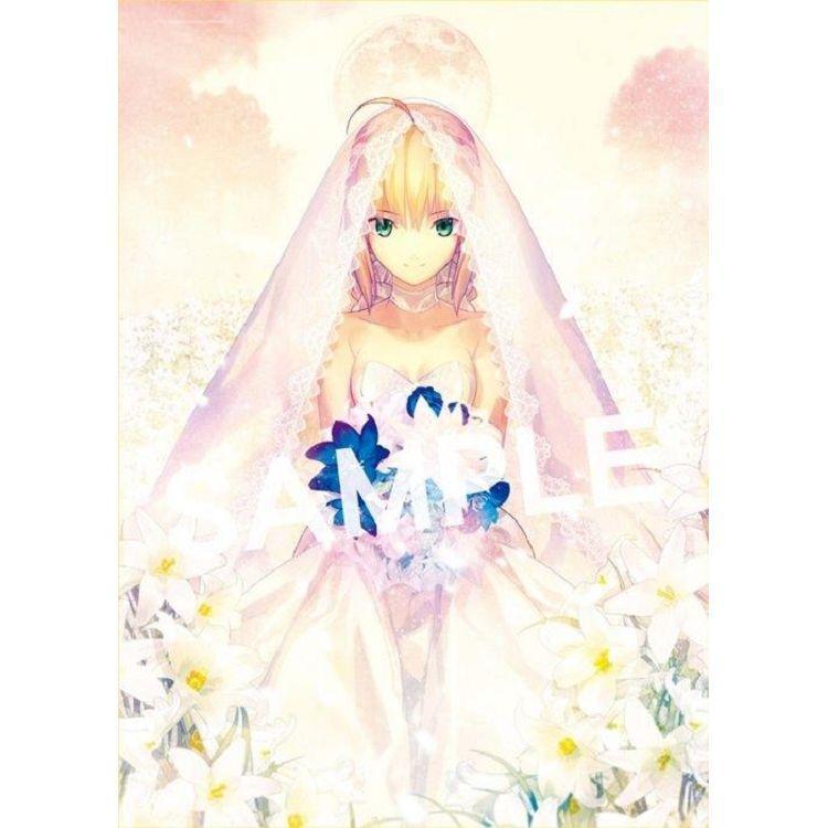 【紀念版】Return to AVALON-武內崇Fate ART WORKS-加購【Saber花嫁紀念掛軸】