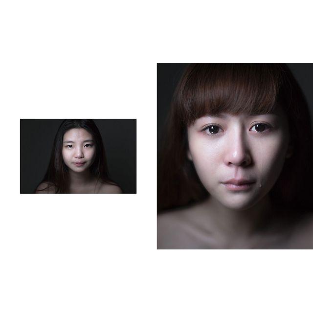 哭泣女孩故事攝影集