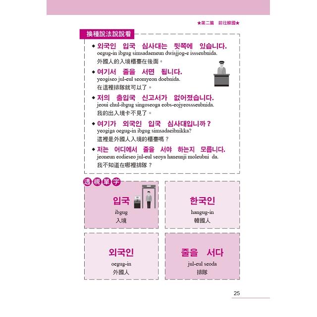 自遊自在  背包客旅遊韓語