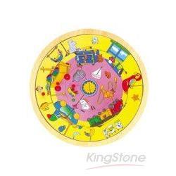 可愛玩具益智圓盤