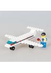 扭蛋迷你積木:飛機