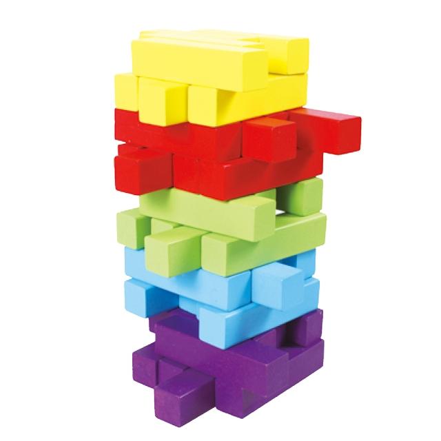 五彩疊疊樂
