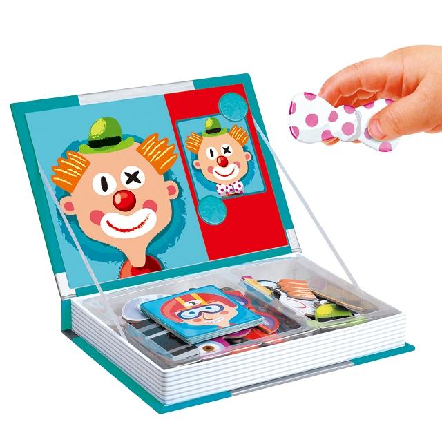 變臉魔法磁鐵遊戲盒