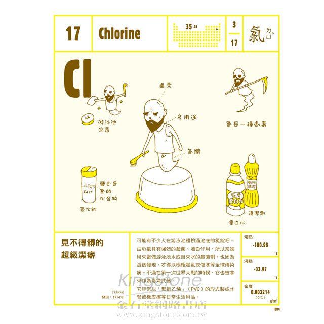 元素生活-118個KUSO化學元素,徹底解構你的生活