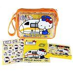 新太魯閣Kitty列車-12色蠟筆繪本組