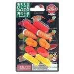 IWAKO-造型橡皮擦/壽司十貫